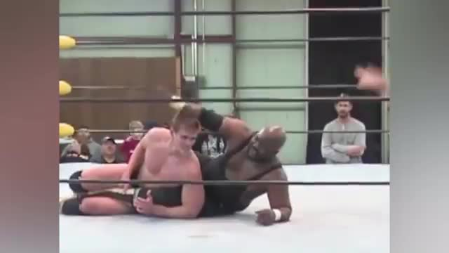 Reid Flair vs. Deon Johnson (w/ FIREBALL attack from Rick Michaels & Brandon Phoenix)