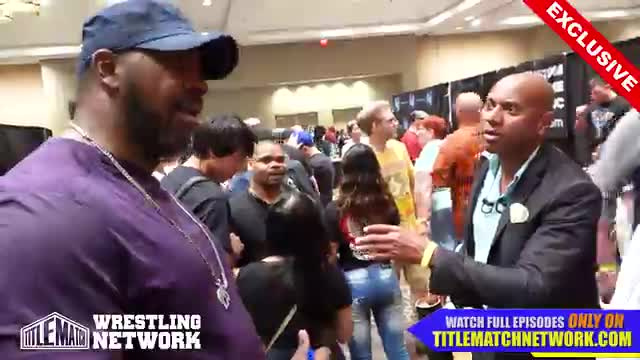 Ernest the Cat Miller - Wrestlecon 2018 Interview w/ Stevie Ray