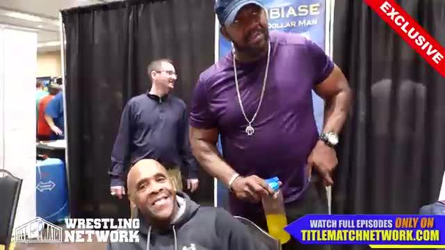 Virgil - Wrestlecon 2018 Interview w/ Stevie Ray