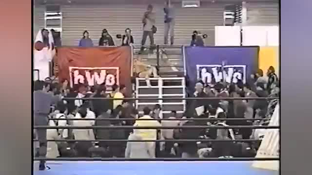 BJW - Matsunaga vs Jun Kasai - Lightbulb & Bed of Nails Match