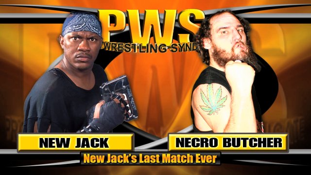 Pro Wrestling Syndicate - Supercard 2013 Night 2 (New Jack Retirement Match vs Necro Butcher)