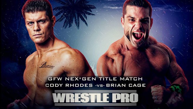 WrestlePro - Orlando Supershow 2017 (Cody Rhodes vs Brian Cage | Ryback vs Colt Cabana)