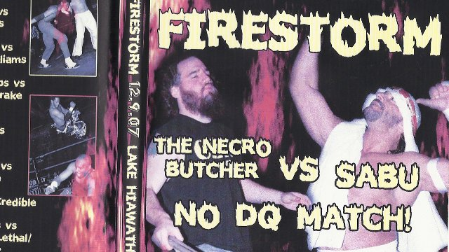 Pro Wrestling Syndicate - Firestorm (Kenny Omega vs Davey Richards | Sabu vs Necro Butcher)