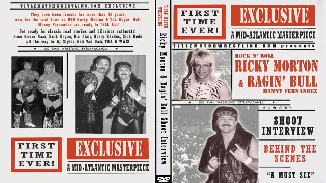Ricky Morton & Manny Fernandez Shoot Interview