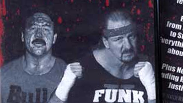 Terry Funk & Ragin' Bull Shoot Interview