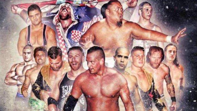 Pro Wrestling Syndicate - Union Outdoor Show (Curt Hawkins vs Colt Cabana | Fallah Bahh vs Kevin Matthews)