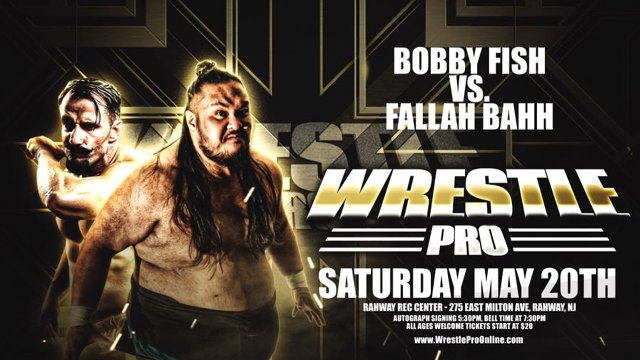 WrestlePro 5.20.17 Full Show (Cody Rhodes vs Joey Janela | Bobby Fish vs Fallah Bahh)