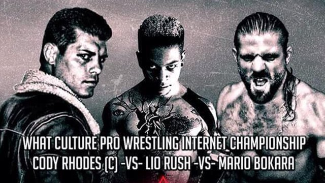 WrestlePro - Starland Ballroom (Cody Rhodes vs Lio Rush vs Mario Bokara)