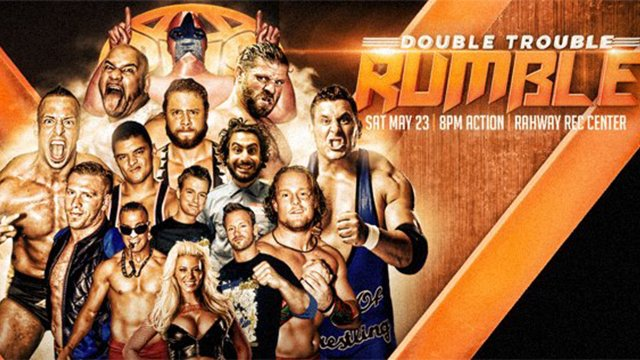 Pro Wrestling Syndicate - Double Trouble Rumble (10-Man 2-Ring War Games Match)