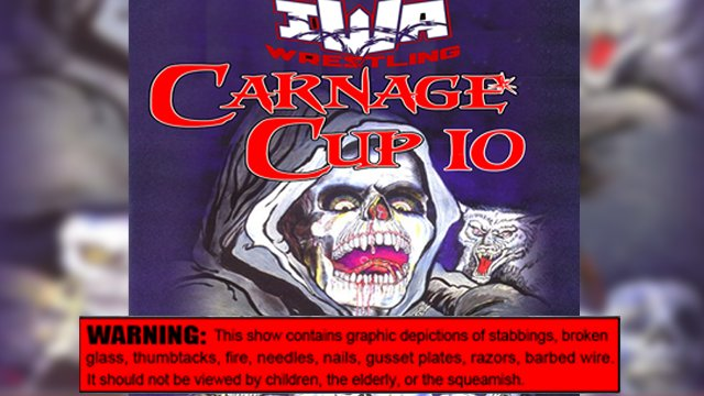 IWA Deep-South - Carnage Cup 10 - Night 2