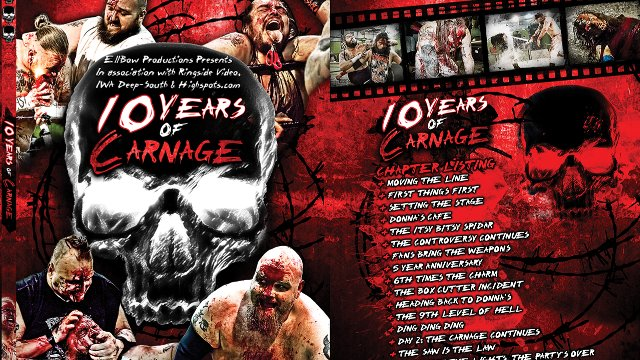10 Years of Carnage - IWA Deep-South Documentary