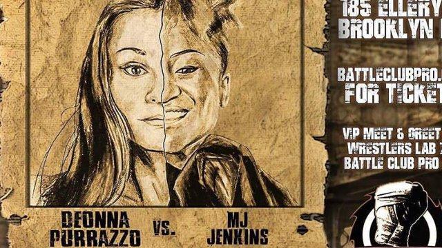 Battle Club Pro - Deonna Purrazzo vs MJ Jenkins - 9.14.17