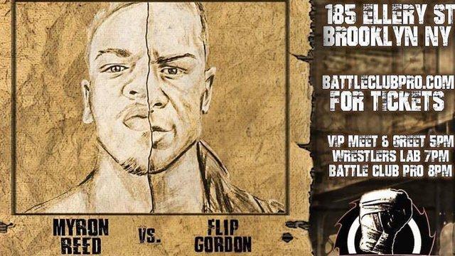 Battle Club Pro - Flip Gordon vs Myron Reed