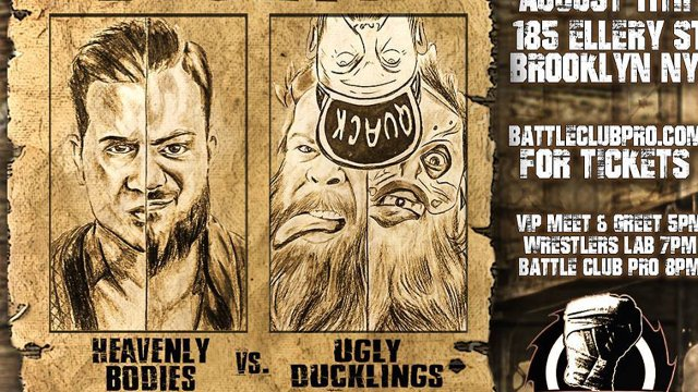 Battle Club Pro - The Heavenly Bodies vs The Ugly Ducklings