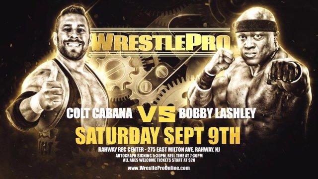 WrestlePro - Bobby Lashley vs Colt Cabana