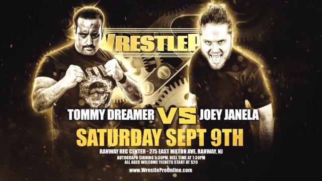 WrestlePro - Tommy Dreamer vs Joey Janela