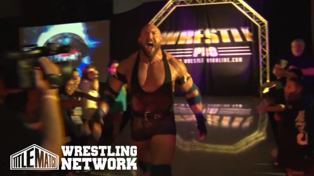 WrestlePro - Ryback vs AR Fox