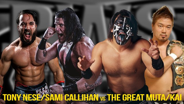 Pro Wrestling Syndicate - Monday Night Mayhem Episode 8 (Great Muta & Kai vs Sami Callihan & Tony Nese)