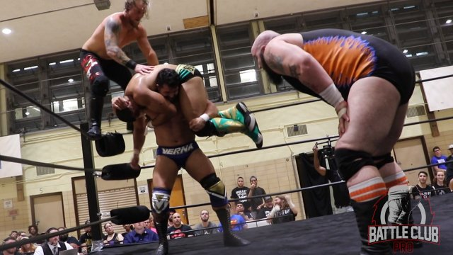 Battle Club Pro - Fatal 4-Way: Matt Macintosh vs Anthony Bowens vs Brute VanSlyke vs Mike Verna