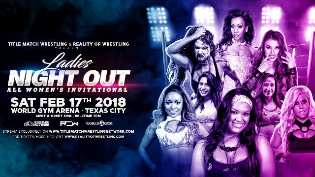 Ladies Night Out: All Women's Invitational 2.17.18 (Su Yung vs Kiera Hogan, Taeler Hendrix vs Barbi Hayden)