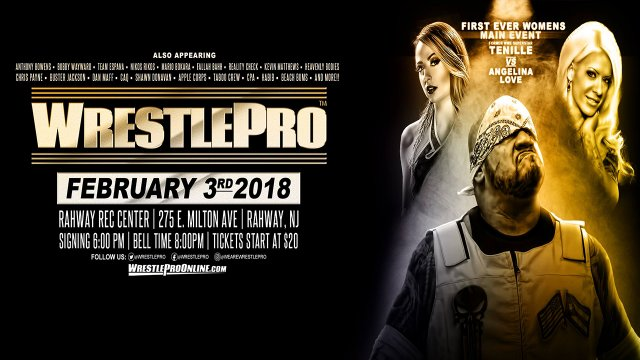 WrestlePro - Brace for Impact - 2.3.18 (Emma vs Angelina Love | Alberto El Patron  vs Fallah Bahh)