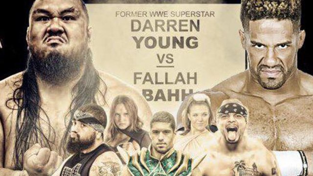 WrestlePro - 3.9.18 (Darren Young vs Fallah Bahh)