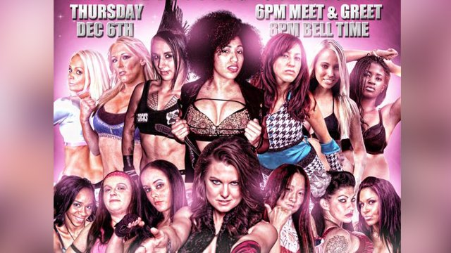BLOW: Bombshells Ladies of Wrestling 12.6.12 FULL SHOW (Katarina Leigh, Shelly Martinez, Veda Scott)