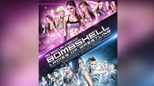 BLOW: Bombshells Ladies of Wrestling 7.26.13 FULL SHOW (Angelina Love, Cheerleader Melissa, La Rosa Negra)