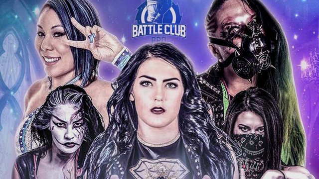 Battle Club Pro - May the Queen Reign 5.25.18 (Tessa Blanchard vs Mia Yim, Su Yung vs Leva Bates)