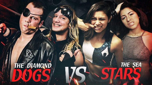 Sea Stars vs Diamond Dogs (Intergender Tag Match)
