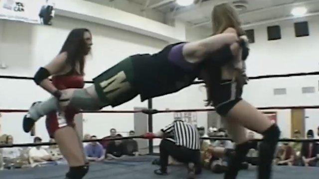 Rain & Lacey vs Mickie Knuckles & Daizee Haze - 5.7.04