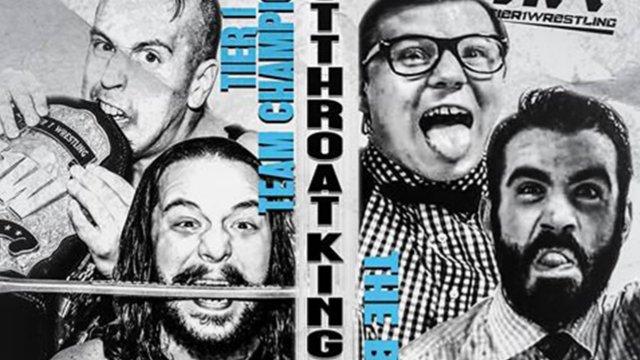 Tier 1 Wrestling- Tier 1 Tag Team Championship: Mike Verna & David Starr Vs Cutthroat Kings(c)