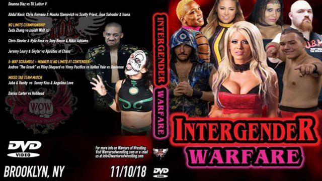 WOW Intergender Warfare 2018 (Angelina Love, Holidead, Sonny Kiss, Darius Carter)
