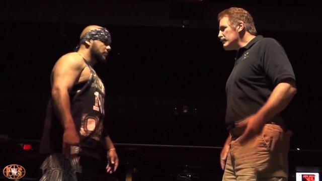 Pro Wrestling Syndicate - Dan Severn vs Homicide
