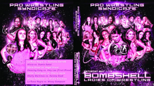 BLOW: Bombshells Ladies of Wrestling 4 - 5.11.13 FULL SHOW (Amazing Kong vs Amy Lee - 1st Blood Match)
