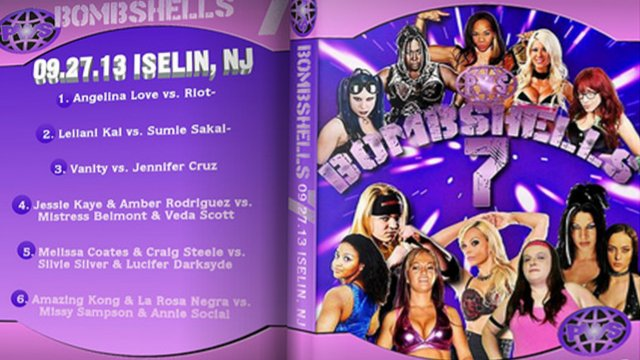 BLOW: Bombshells Ladies of Wrestling 7 - 9.27.13 FULL SHOW (Amazing Kong, Sumie Sukai, Angelina Love)