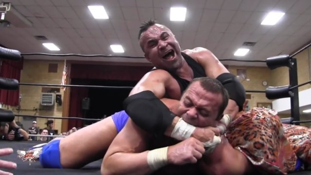 WOW Warriors of Wrestling: Teddy Hart vs Davey Boy Smith Jr