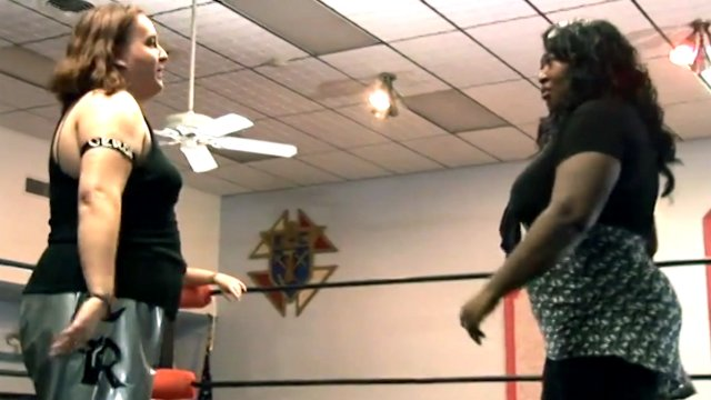 Awesome Kong & La Rosa Negra vs Missy Sampson & Annie Social