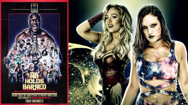 WrestlePro - No Holds Barred 11.9.18 (Zeus, Scarlett Bordeaux, Duke The Dumpster Drose, Super Crazy)