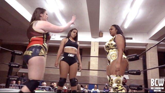 BCW: Davienne vs Faye Jackson vs Savannah Evans vs Tasha Steelz