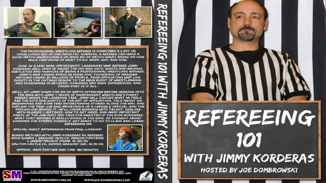 Refereeing 101 with Jimmy Korderas - Hosted by Joe Dombrowski