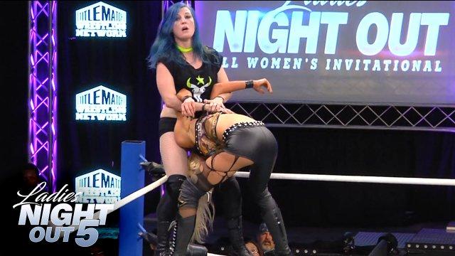 Ladies Night Out 5 - Leva Bates vs Allie Recks
