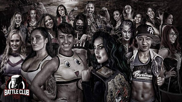 Battle Club Pro - Women Crush Wednesday (Kylie Rae vs Harlow O'Hara, Su Yung vs Maria Manic, Diamante vs Tasha Steelz)