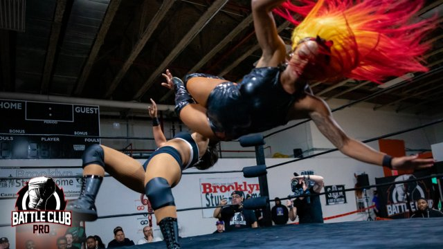 Battle Club Pro - Kiera Hogan vs Savannah Evans