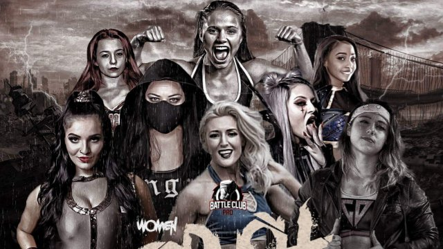 Battle Club Pro - 8 Woman Gauntlet Match (Leyla Hirsch, Ruby Raze, Steph De Lander & more)