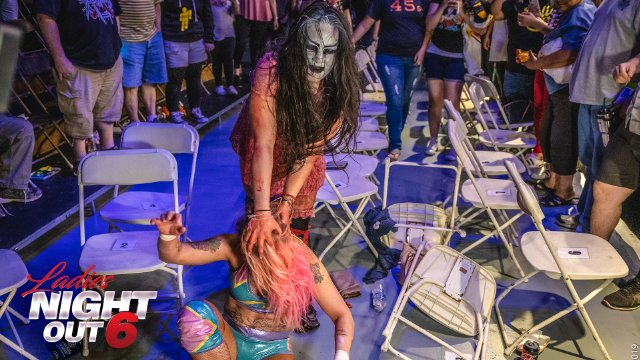 Ladies Night Out 6 - Su Yung vs Laynie Luck (No DQ/Falls Count Anywhere)