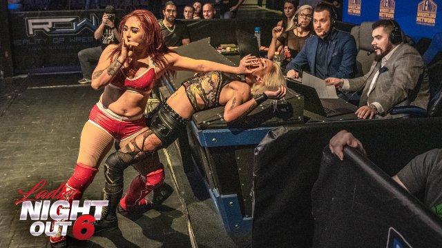 Ladies Night Out 6 - Miranda vs Allie Recks
