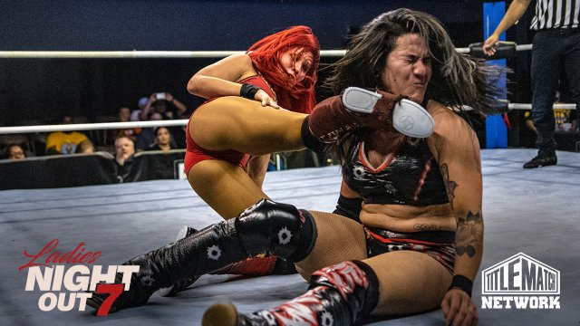 Ladies Night Out 7 - Ivelisse vs Diamante