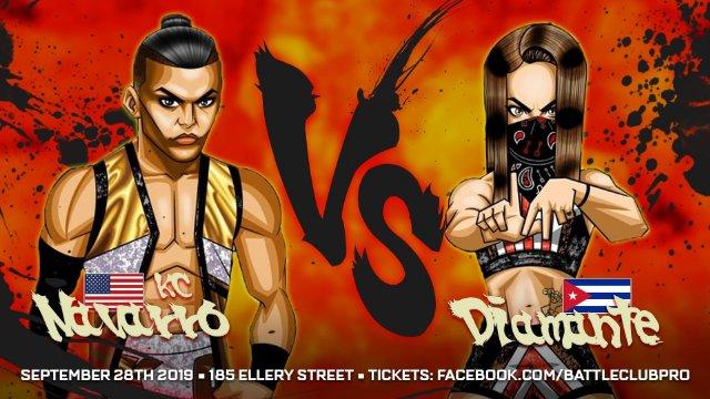 Battle Club Club - Diamante vs KC Navarro (Sister vs Brother)