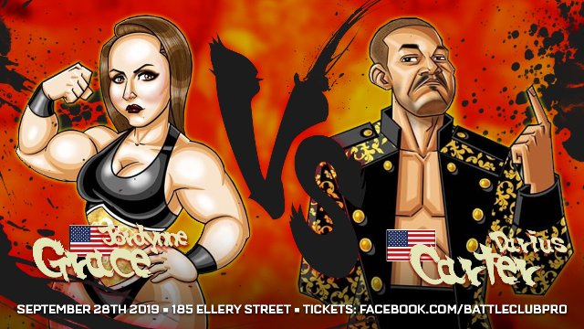 Battle Club Club - Jordynne Grace vs Darius Carter